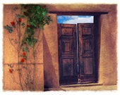 Any 4x5, 5x5, or 4x6 Archival Fine Art Photograph (Tesuque Doors shown)