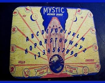 Spirit board mouse pad retro vintage steampunk cosmic ghost mystic board kitsch