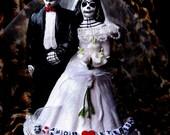 Amor Eterno Dia De Los Muertos Wedding Topper