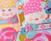 Matryoshka  Art Doll - Fru Oversen