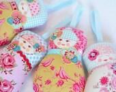 Shop closing sale - 40% off all items - refund taken upon purchase - Scandinavian Matryoshka Art Doll - Fru Stovner