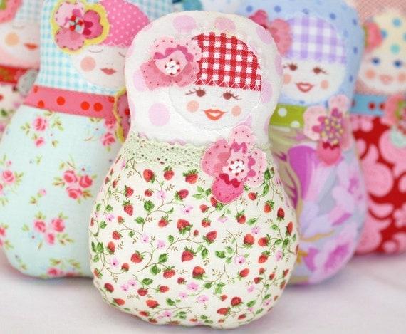Matryoshka  Art Doll - Fru Sommerlig