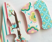 """ARDEN 10"""" Custom Hand Painted Decorative Wooden Wall Letters"""