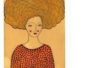 Art Print- Goldie