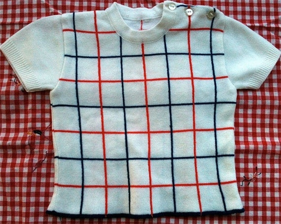 Vintage Baby Sweater 9-12 Months