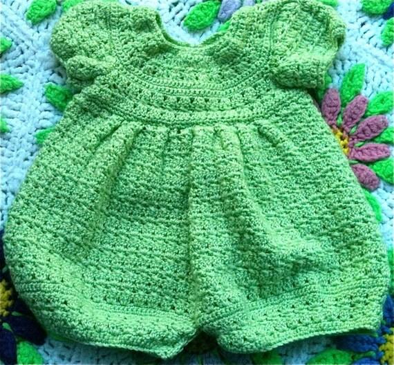 Sage Green Baby Romper 6-9 Months