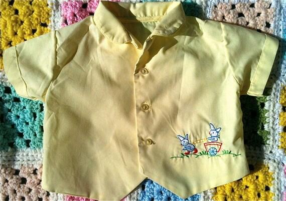 Vintage Bunny Shirt 0-3 Months