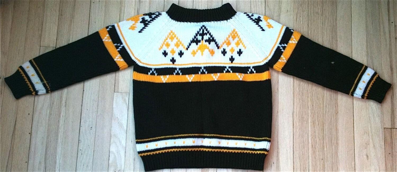 Vintage Ski Sweater Kids 6,7