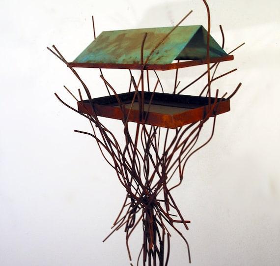 Sculptural Bird Feeder 243
