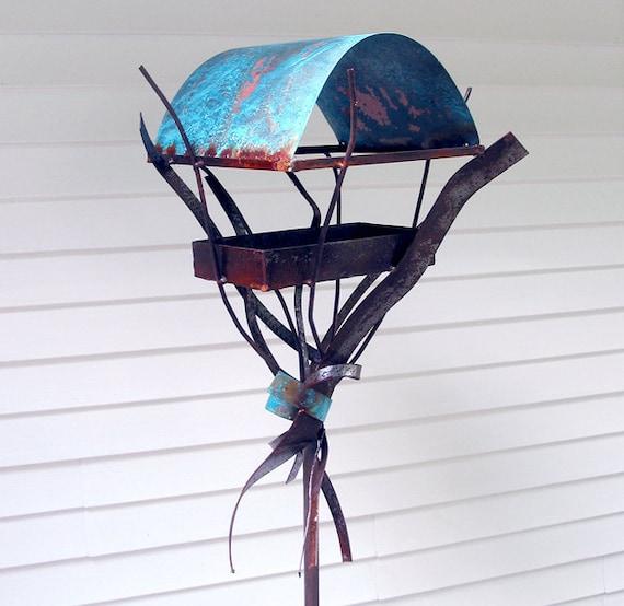 Sculptural Bird Feeder 248