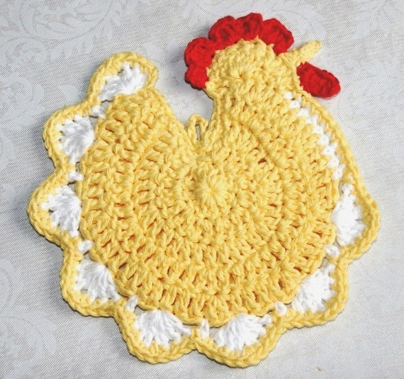 Crocheting Pot Holders : How To Crochet Crochet A Pot Holder Apps Directories