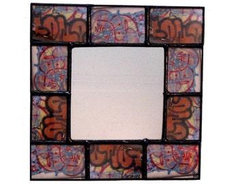 MIRROR -  Wall Mirror - Decorative Mirror - Graffiti Mirror