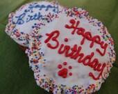 Happy Birthday Granola Cake for dogs