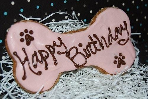 anniversaire chien os