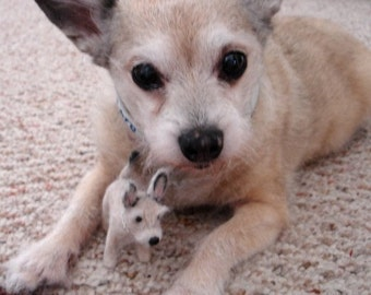 Needle Felted Likeness of your Pet