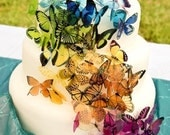 60 x Martha Stewart Replica - Wedding Cake Butterfly Pack