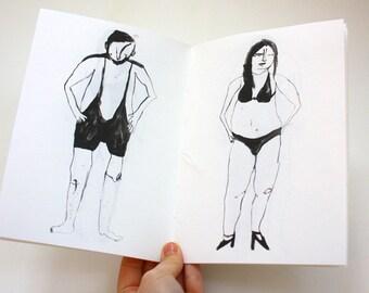 Art Zine - A Catalogue of Outrageous Swimwear