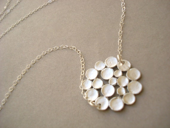 Cloud Necklace in Silver