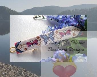 Bead Pattern Butterfly Dance Cuff Bracelet Tutorial