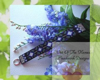 Bead PATTERN Dakota Stars Cuff Bracelet Loom Or Square Stitch