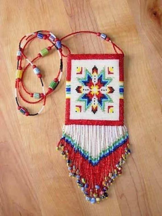 Bead Pattern Lakota Star Amulet Loom By Outoftheflames On Etsy