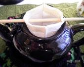 Reusable Loose Leaf Tea Filter, Tea Infuser, Portable tea maker, Tea bag, Pour-over Coffee maker, Full immersion coffee maker