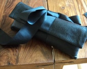 RESERVED FOR LOUISE Ribbon Bow Clutch