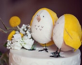 Custom Felt Bird Cake Toppers