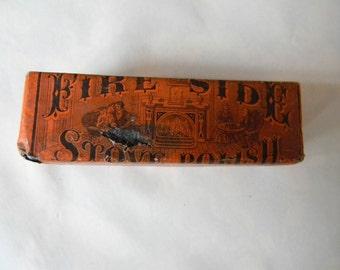 Vintage Fire Side Stove Polish