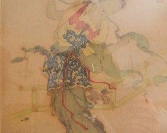 Vintage Oriental Print
