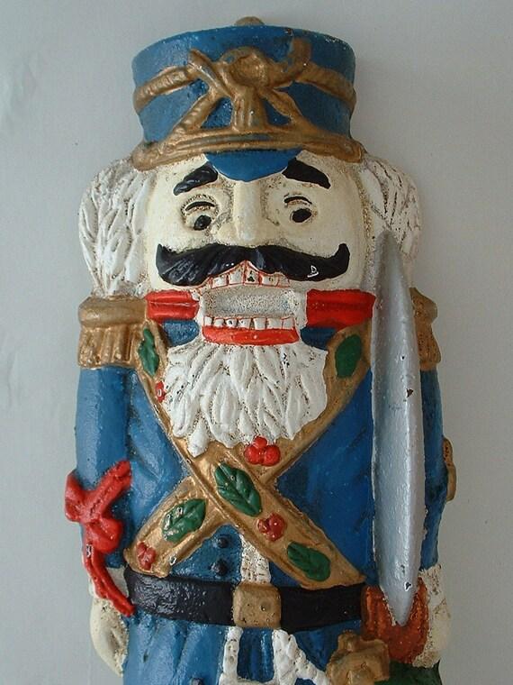 Vintage Cast Iron Figural Nutcracker ..  Reserved for John Holland
