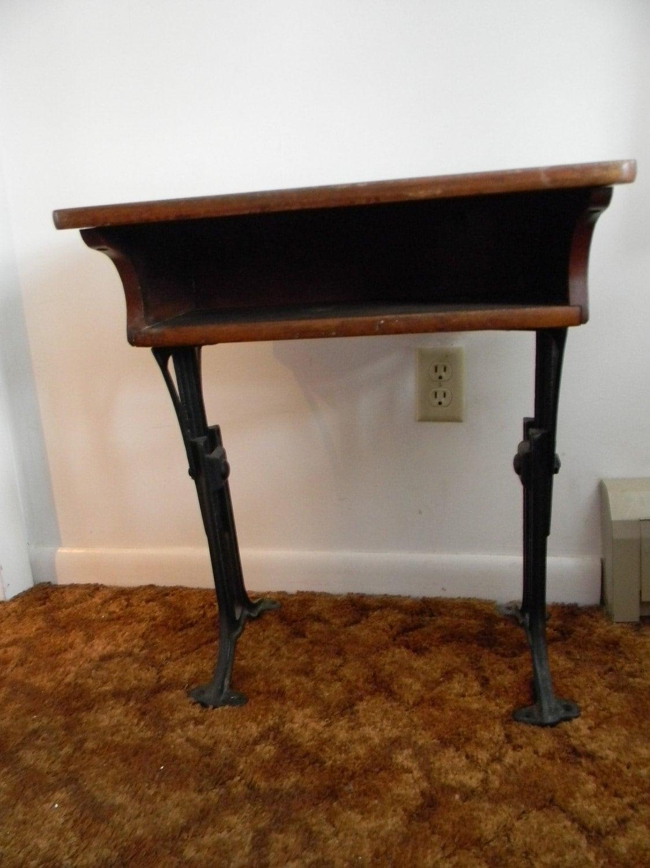 Vintage Antique Small Chandler School Desk
