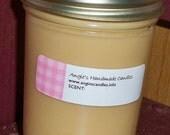 Vanilla Bean 8 oz soy jar candle