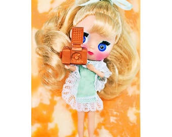 blythe art print aceo size SAY CHEESE