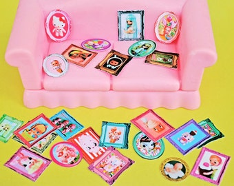 miniature dollhouse Blythe size BOOPSIE art 25 DIFFERENT mini masterpieces