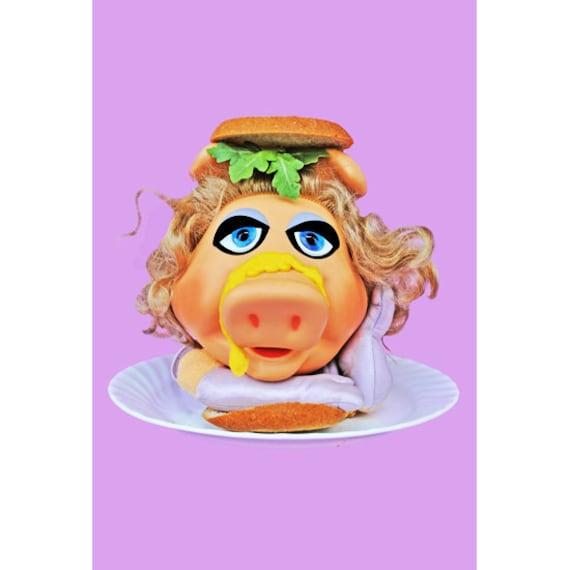 miss piggy print aceo size HAM SANDWICH
