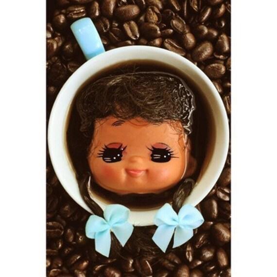doll coffee print aceo size COFFIFI