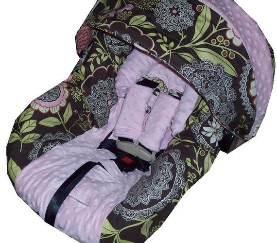 Design Your Own Infant Car Seat Cover With Matching Hood