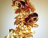 royal autumn earrings