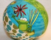 Froggy Fun - Large Cloth Jingle Ball