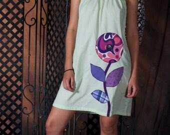 Great Big Purple Flower Dress