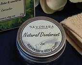 Lavender Lemongrass Deodorant  - shea butter deodorant with essential oils