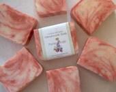 Pomegranate Peach Cold Process Soap