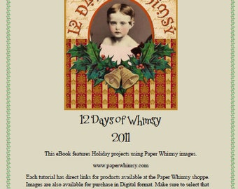 PDF 12 Days of Whimsy  Tutorial