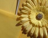 Yellow Sparkle Flower Bloom