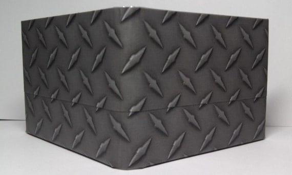 Duct Tape Wallet 7 Pocket Diamond Plate