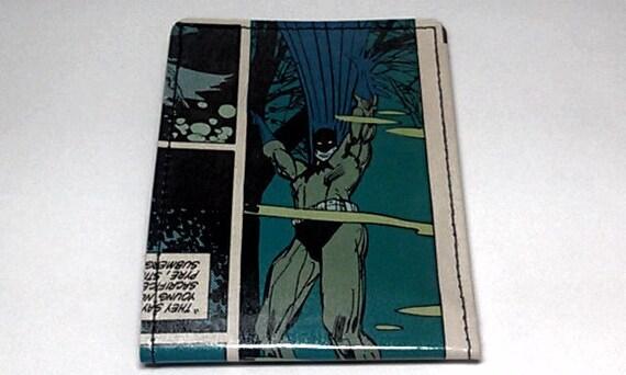 Sewn Duct Tape Comic Book Wallet - Batman Design 5