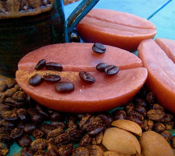 Flexible Coffee Bean Soap Mold