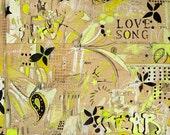 Fuss Canvas Print by Jennifer Mercede 24X24