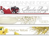 Custom Banner Design Using your Product Photographs